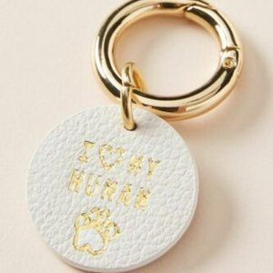 """Anthropologie Other - Anthropologie """"I Love My Human"""" Dog Collar Charm"""